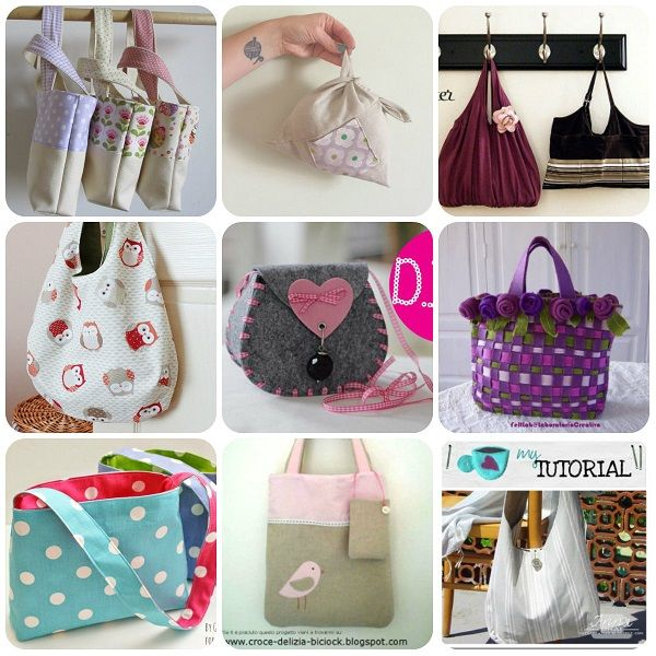Oltre 25 fantastiche idee su Borse da cucire su Pinterest  Modelli di borsa da cucire, Borse ...