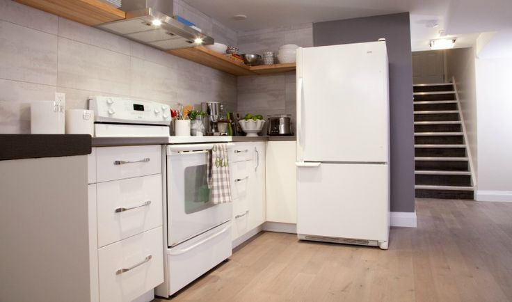 Small basement kitchen #IncomeProperty #HGTV