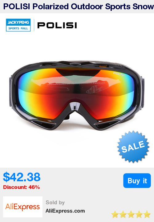 POLISI Polarized Outdoor Sports Snow Snowboard Ski oggles Skiing lasses Snowboarding Skate Eyewear Motocross Goggles * Pub Date: 17:01 Jul 1 2017