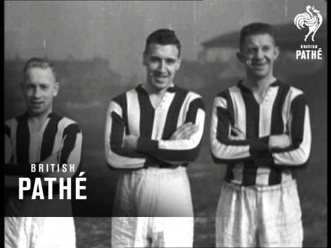 Famous Football Clubs In Training No. 6 - Stoke City (1934)