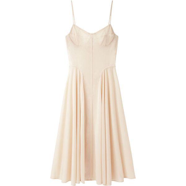 Organic by John Patrick Corset Dress ($485) ❤ liked on Polyvore