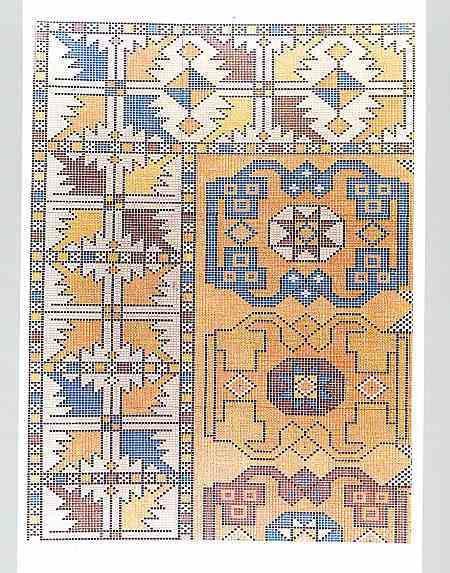 persian rugs how to make - Google-haku