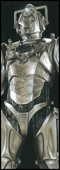 Doctor Who - The Cyberleader by *caldwellart on deviantART