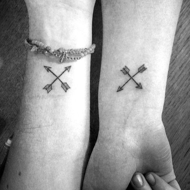 friendship arrow tattoo