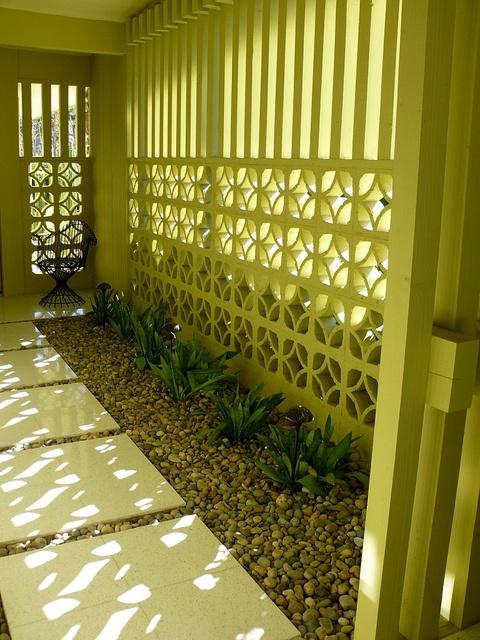 entrada corredor lateral