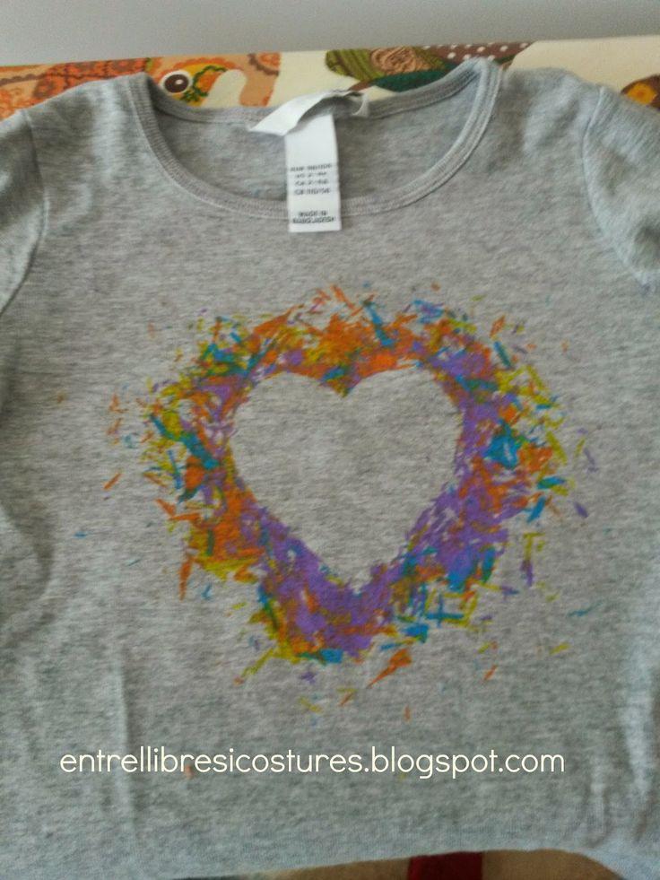 M s de 1000 ideas sobre camisas pintadas en pinterest - Pintura para camisetas ...