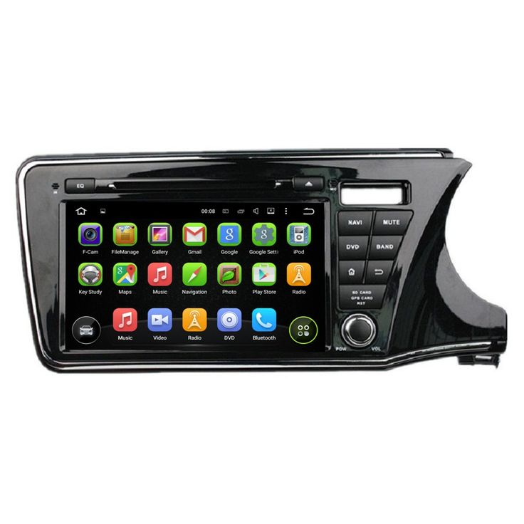 "Quad Core HD 2 din 9"" Android 5.1 Car PC Radio DVD for Honda CITY Right 2015 With Car GPS 3G/WIFI Bluetooth TV USB DVR AUX IN"
