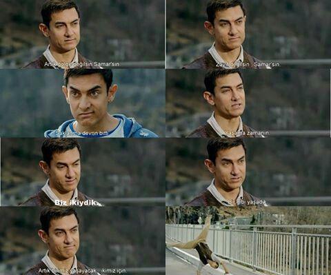 N emotional still frm Dhoom 3.... :(