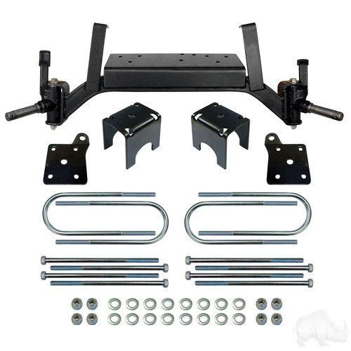 "EZGO TXT Gas & Electric Golf Cart RHOX 5"" Lift Kit - WHEELZ Custom Carts & Accessories"
