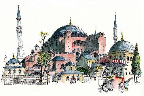 Hagia Sophia, Istanbul | Flickr - Photo Sharing!