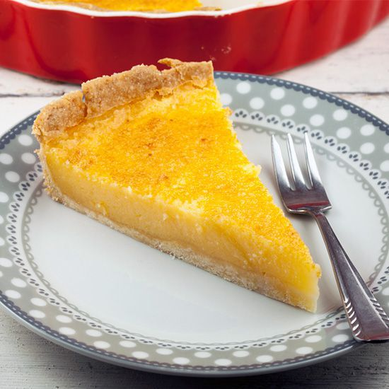 A buttermilk lemon pie is soft and full of flavor by adding eggs, butter and more. With a delicious and easy homemade pie crust.