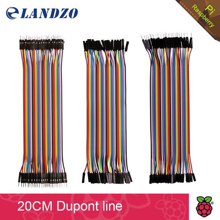 Gratis pengiriman garis Dupont 120 pcs 20 cm pria pria + pria untuk perempuan dan wanita untuk kawat jumper perempuan kabel Dupont untuk arduino