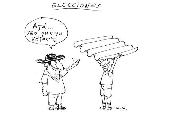 Elecciones presidenciales 2010 página oficial de Tola y Maruja