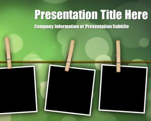 Peg Bokeh PowerPoint Template