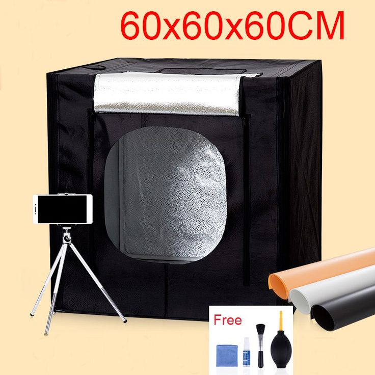 Discount! US $75.31  60*60*60CM LED Photo Studio Light Tent Shooting Softbox Photography Light Box Kit With Free Gift +Portable Bag +Dimmer Switch  #Photo #Studio #Light #Tent #Shooting #Softbox #Photography #Free #Gift #+Portable #+Dimmer #Switch  #CyberMonday