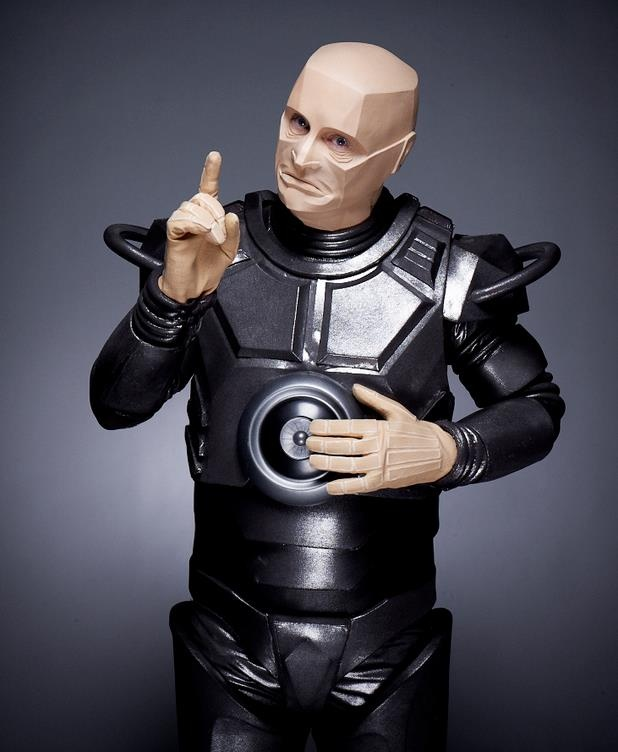 Kryten Pointing. There's new Red Dwarf. :)