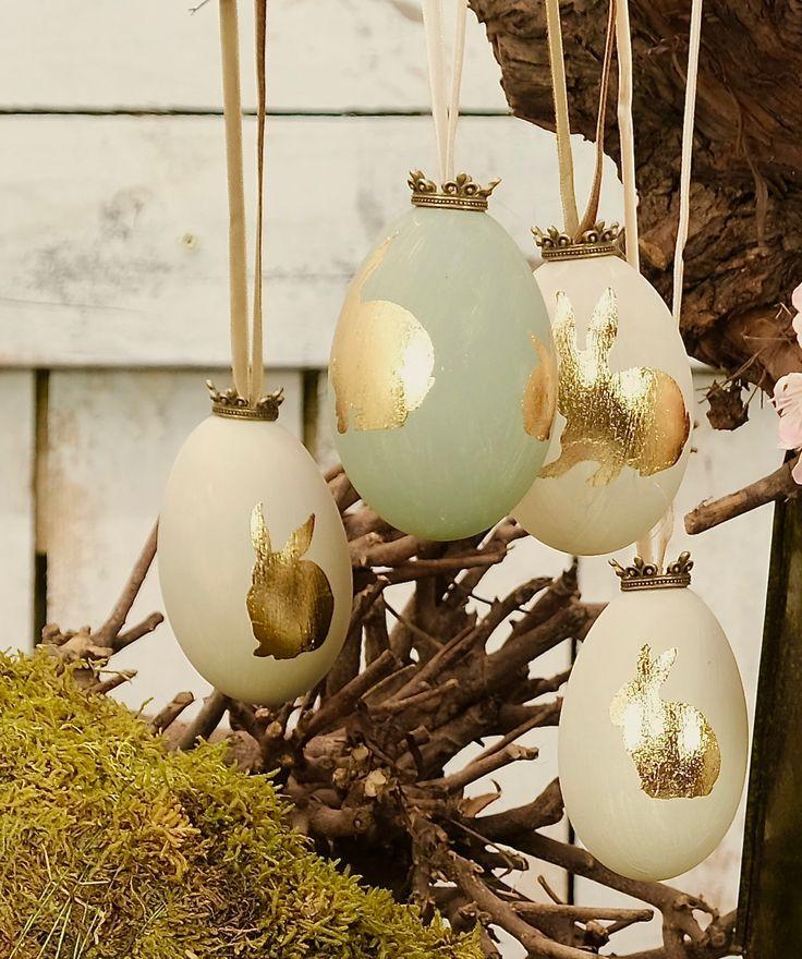 ehrfurchtiges deko ideen zu ostern niedliche haeschen und bunte eier gefaßt bild oder beecbdbeea oster dekor baran