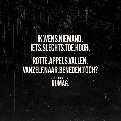 Rotte appels #Rumag