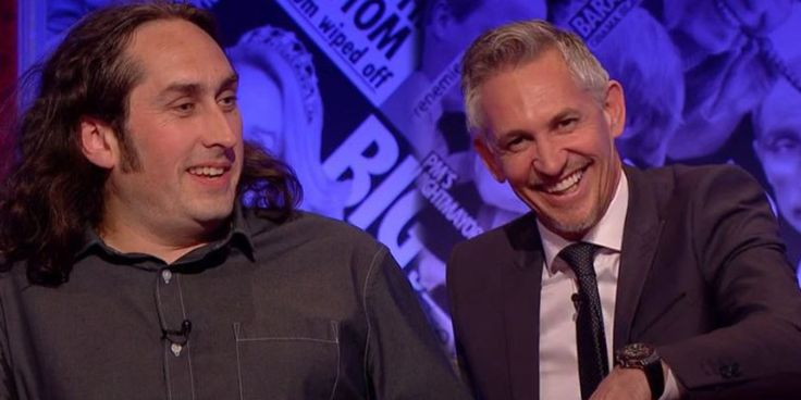 Convo: Gary Lineker And Ross Noble Argue About Leicester City's Premier League Win On 'Have I Got News For You'