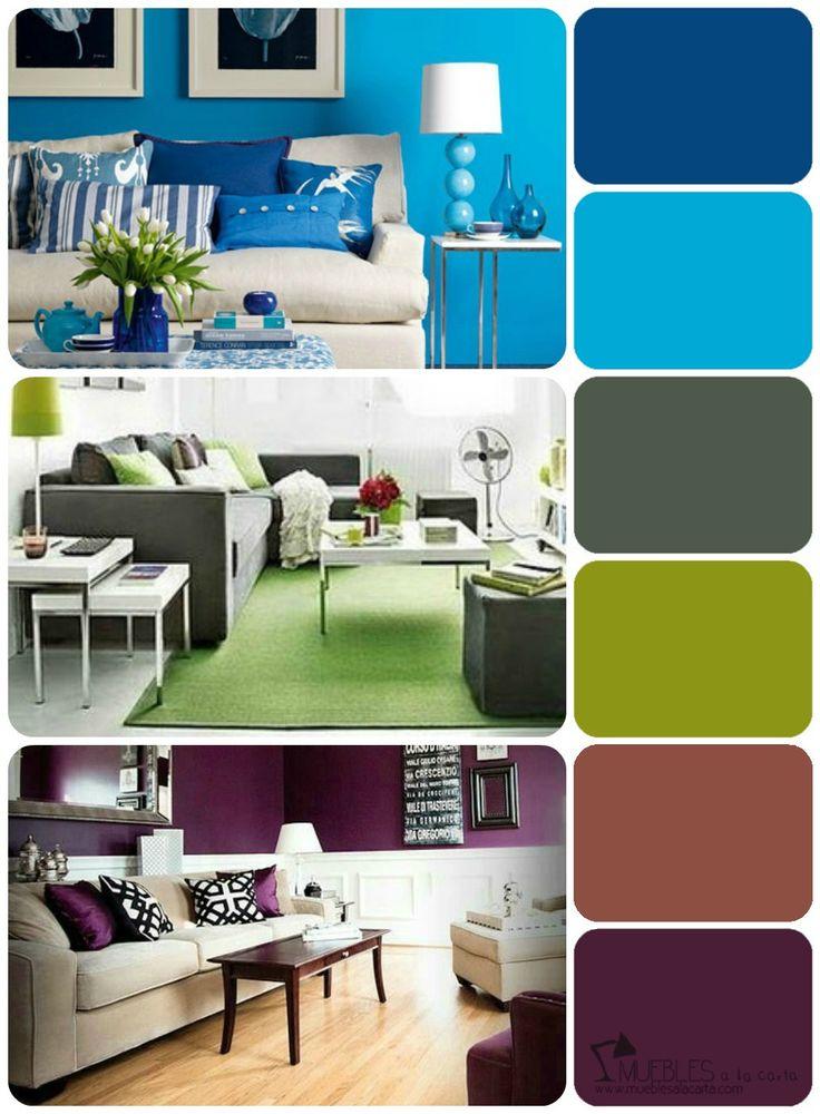 M s de 25 ideas incre bles sobre colores para salas - Paleta de colores para paredes interiores ...