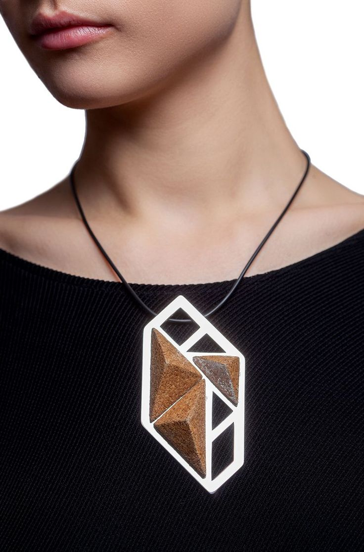 Equilibrium Necklace via LIFE IN MONO. Click on the image to see more!