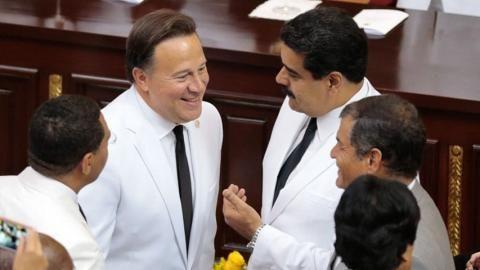 El Vaticano estaría detrás del asilo político de Maduro en Panamá (VIDEO) - http://www.notiexpresscolor.com/2016/10/28/el-vaticano-estaria-detras-del-asilo-politico-de-maduro-en-panama-video/