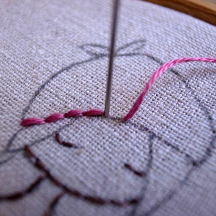 кронштейн вышивание картинок нитками мулине в домашних условиях пошагово спорт