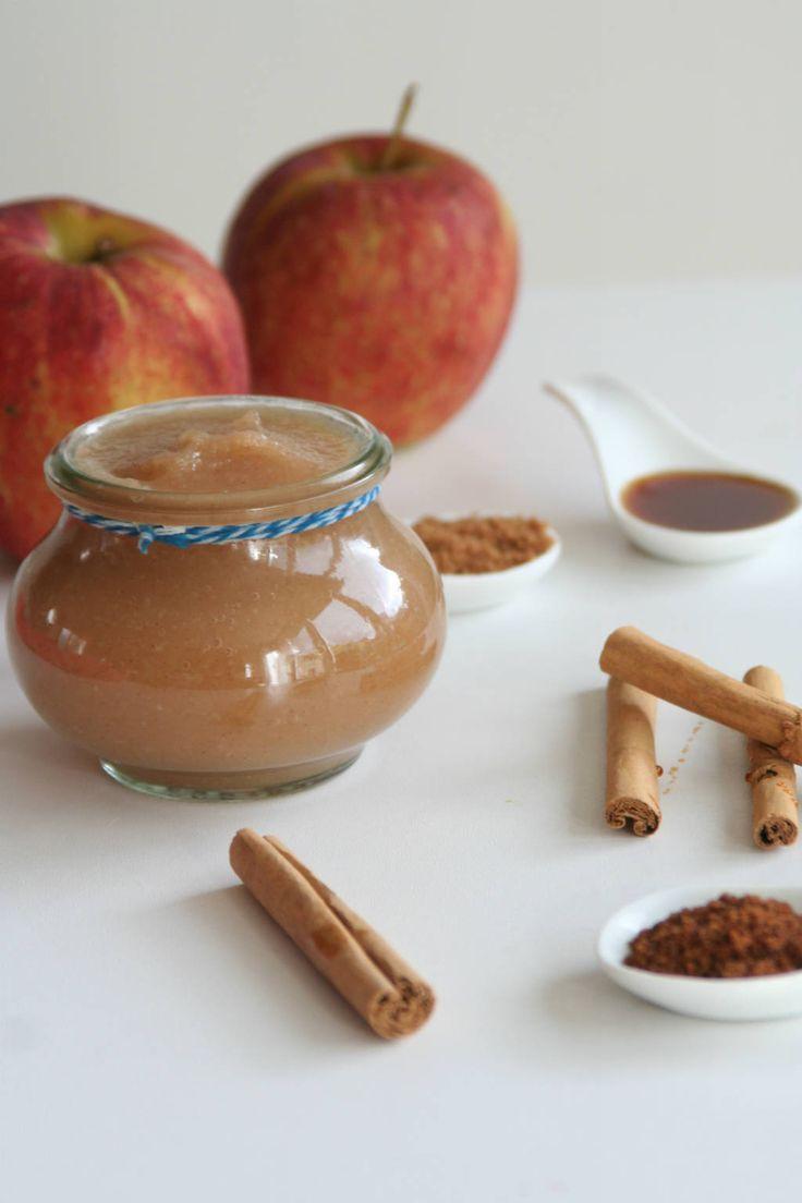 zelf appelmoes maken zonder geraffineerde suikers. www.lekkeretenmetlinda.nl