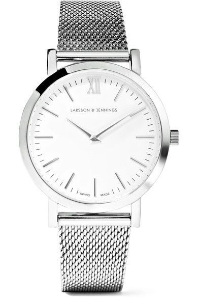Larsson & Jennings | Lugano stainless steel watch | NET-A-PORTER.COM