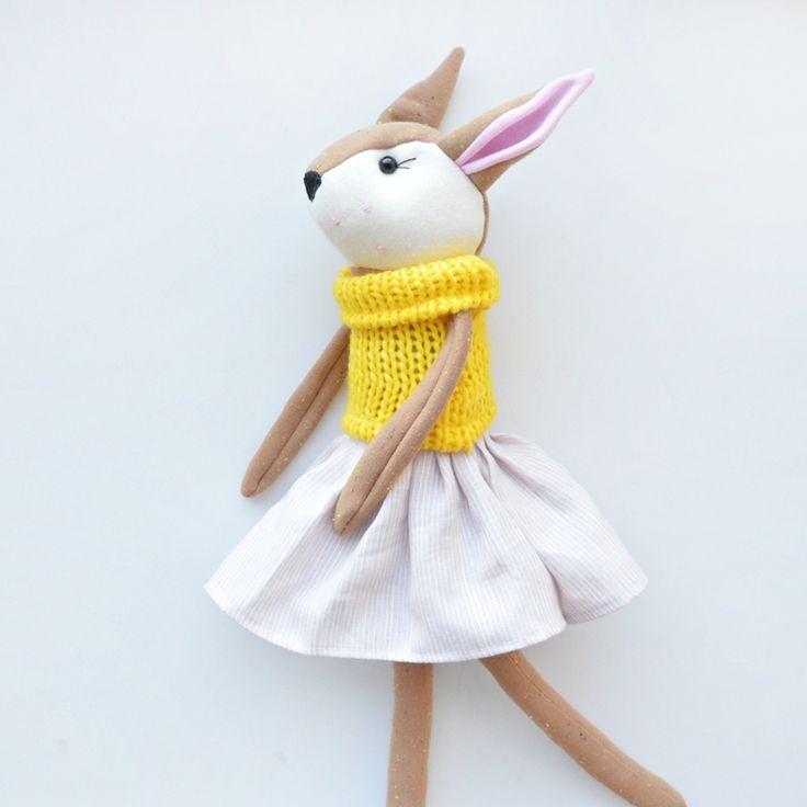Sklep internetowy Lady Stump | Sarenka Zuzanna #handmade #toy #handmadetoy #ladystump #play #gift #prezent #sarna #lalka #doll #producent #zabawki #dzieńdziecka
