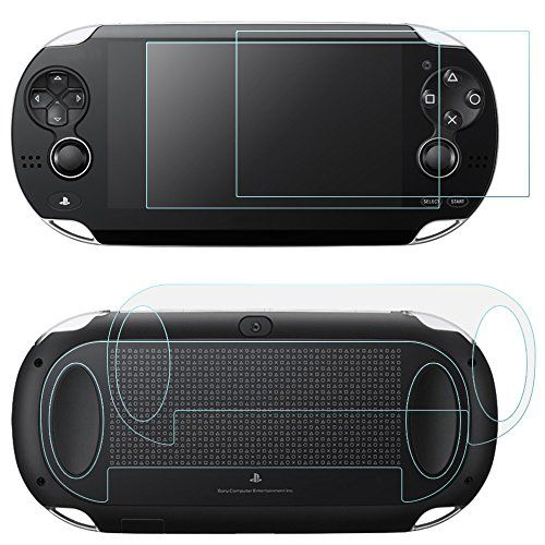 Screen Protectors for Sony PlayStation Vita 1000 with Back Covers AFUNTA 2 Pack (4 Pcs) Tempered Glass for Front Screen and HD Clear PET Film for the Back PS Vita PSV PCH-1000 Film Accessory http://ift.tt/2jDoG2r
