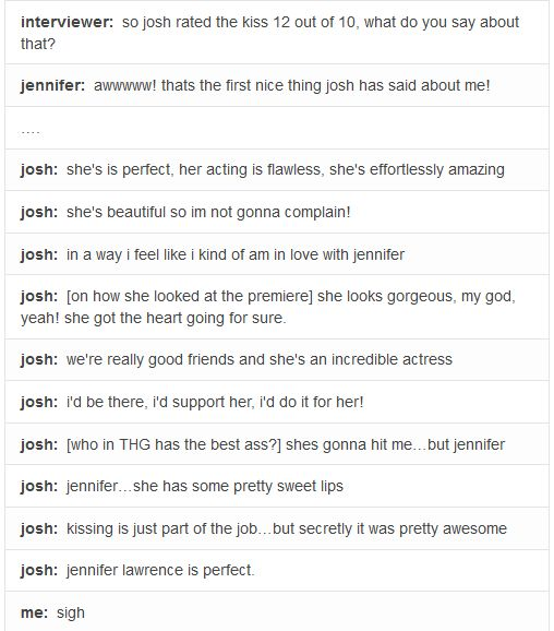 josh and the way he always describe jennifer...admit it josh you got hots for her aahaha
