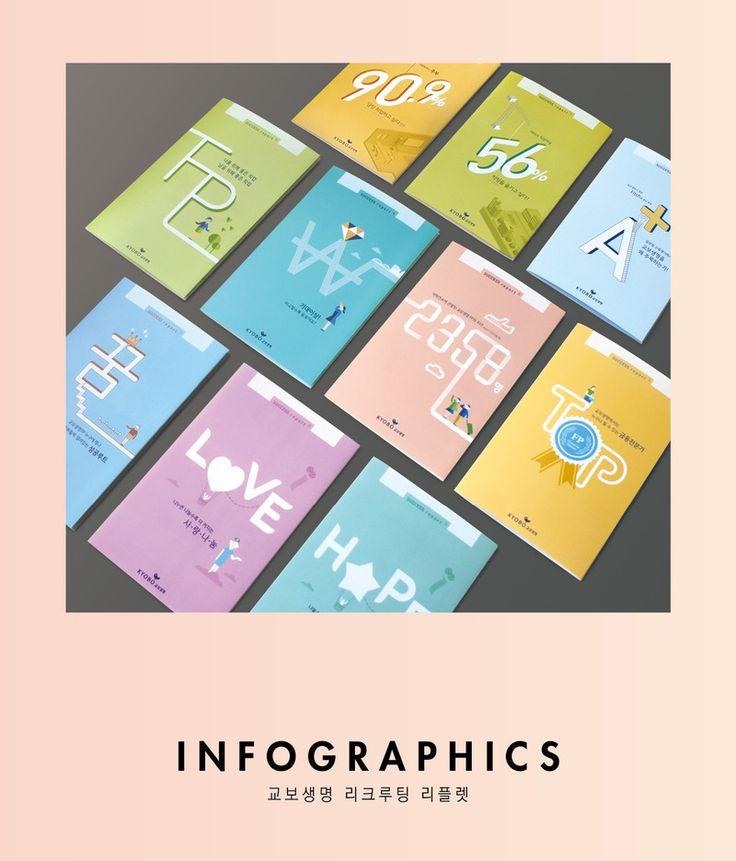 INFOGRAPHICS - 교보생명 리크루팅 리플렛 - 브랜딩/편집 · 일러스트레이션, 브랜딩/편집, 일러스트레이션, 브랜딩/편집
