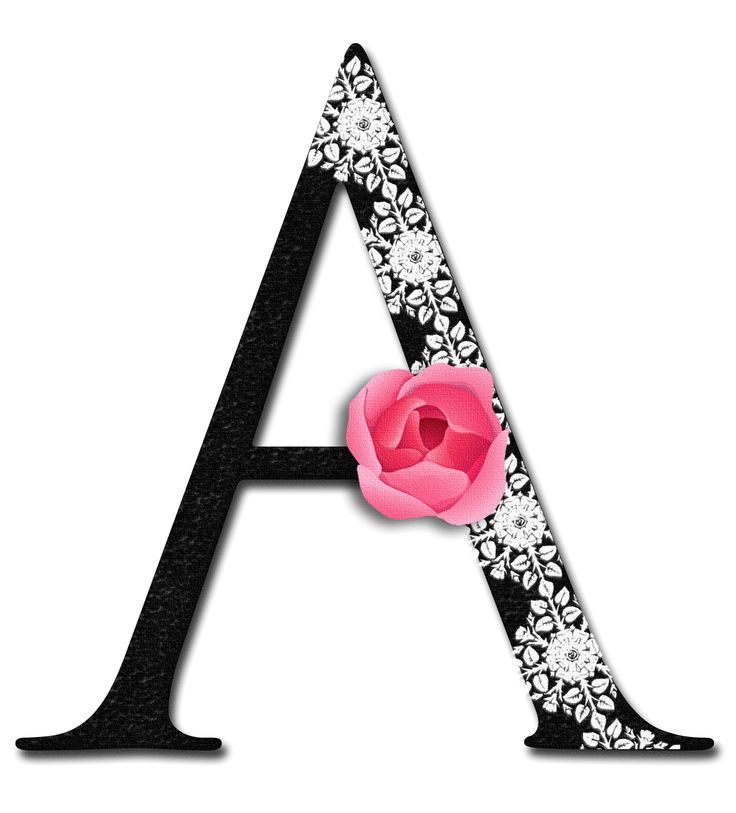 Glamorous Lady Letter A Alphabetically Speaking