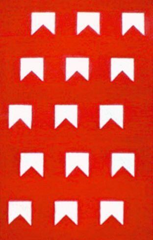 Bandeirinhas geométricas / Alfredo Volpi