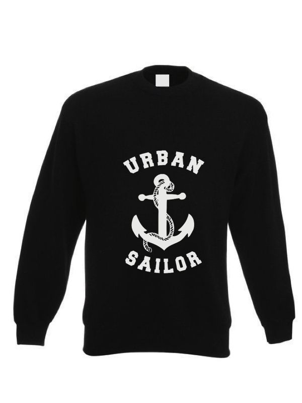 This is BRAND new gear for the inner sailor in you to wear or use as you wander from one urban setting to the other.  It´s all about your Urban Soul, Sailor! Black Logo Sweatshirt - 65% cotton and 35% polyster, 100% style! Shipping included! €45.00 #MakersAndDoers #inspiration #fashion