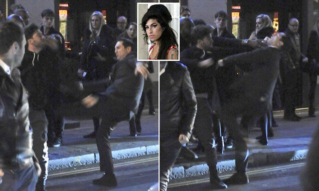 #AmyWinehouse former fiance Reg Traviss attacked outside #Groucho Nightclub in #Soho
