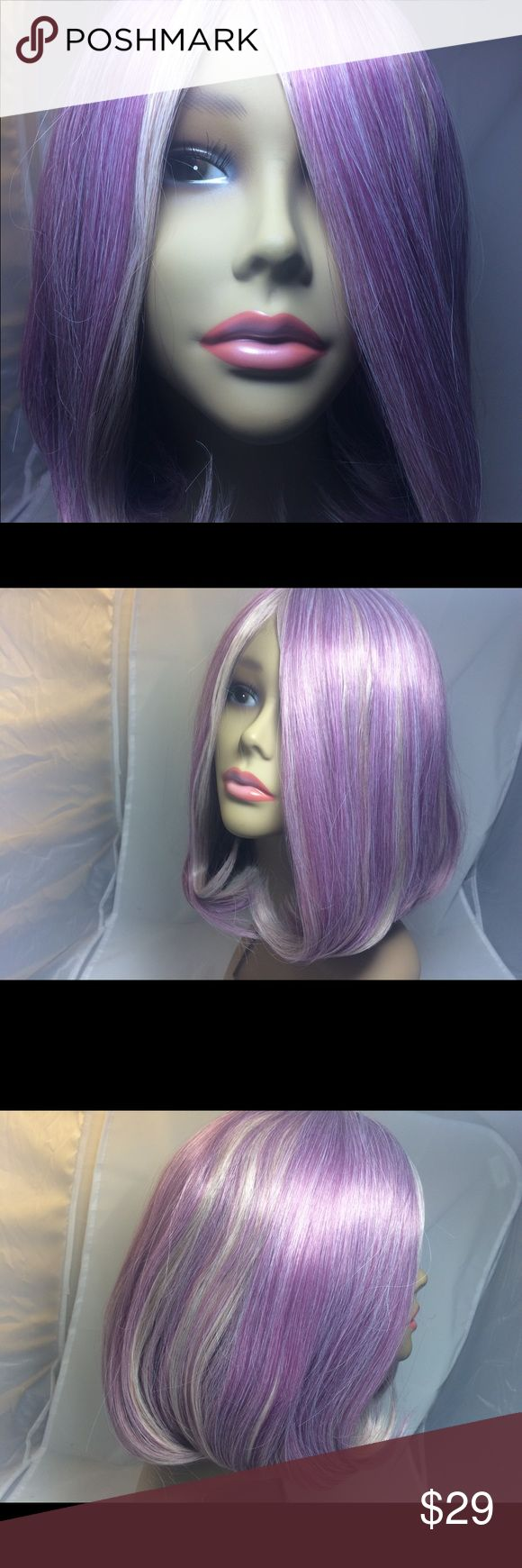 WoodFestival Light PurpleTaro Synthetic Bob Wig WoodFestival Light PurpleTaro Bob Wig Women Short  Hair Wigs Synthetic Wigs  Ships only to the lower 48 states   FEATURES:  wig cosplay: synthetic wigs   synthetic wig: hair wigs   14 inch: ombre wig   Style: Body Wave   lolita wig: Wig   synthetic wig   short wigs: synthetic hair   Cap Size: Average Size   Length: 14   purple wig: cosplay wigs   short wig: bob wig WoodFestival Accessories Hair Accessories
