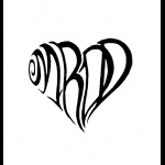 Good idea for kids initials in a tattoo