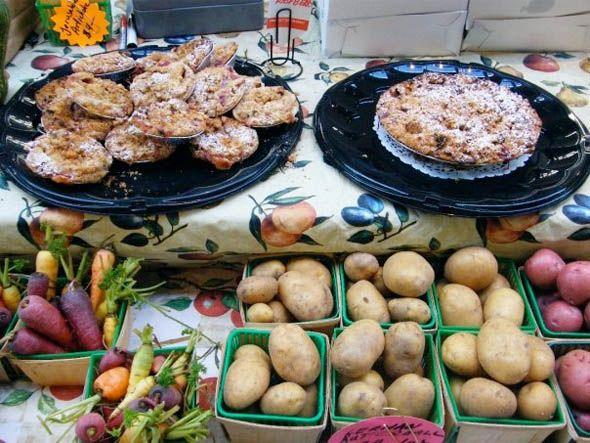 The Wychwood Barns Farmers' Market