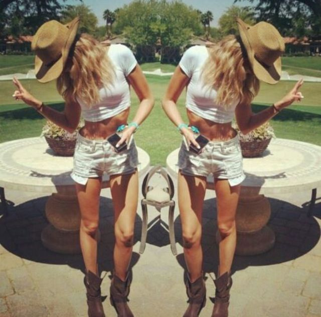 Modern Cowgirl Outfit Party Cowboy Theme Pinterest