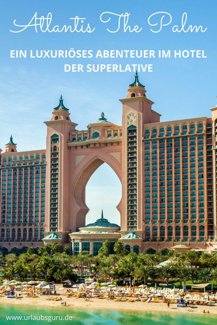 Luxus pur, unfassbares Entertainment und ein krasser Wasserpark - alle das erwartet euch im Atlantis The Palm Hotel in Dubai.   Foto: istock.com/Leonid Andronov