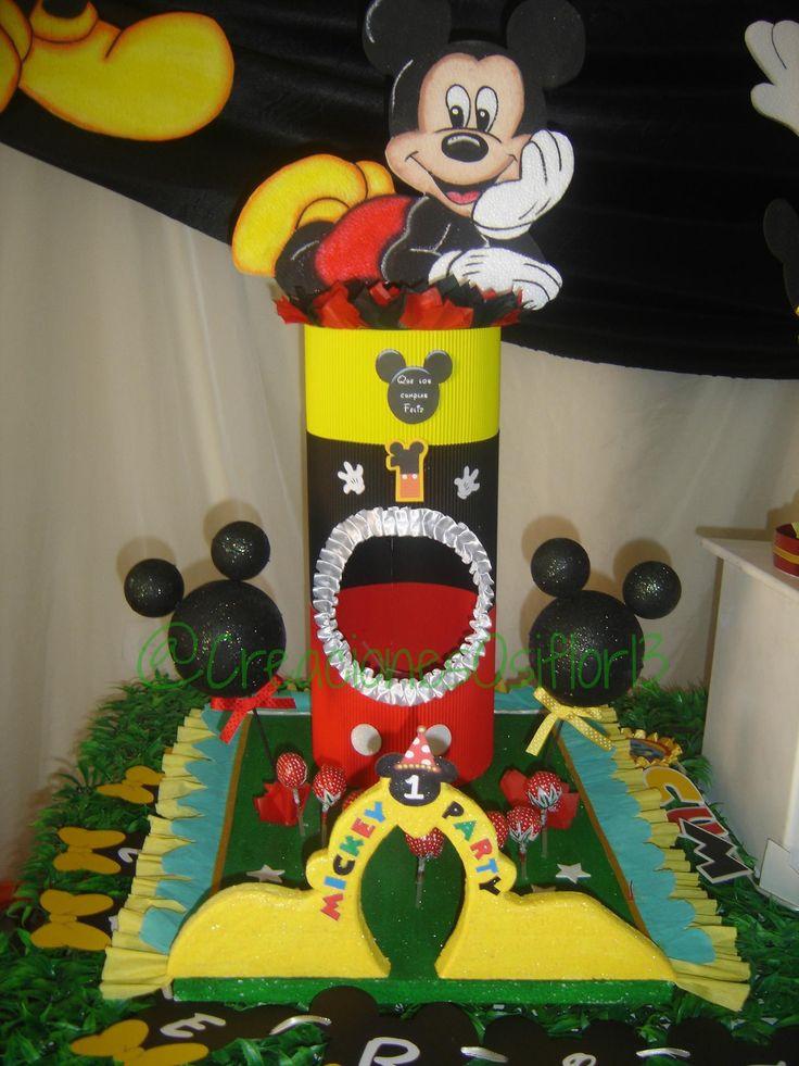 22 Best Decoracion De Cumplea 241 Os Mickey Mouse Images On