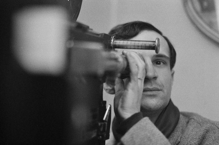 """Par Philippe Le Tellier pendant le tournage de """" L'amour à Vingt ans / Antoine et Colette"""", 1962"""