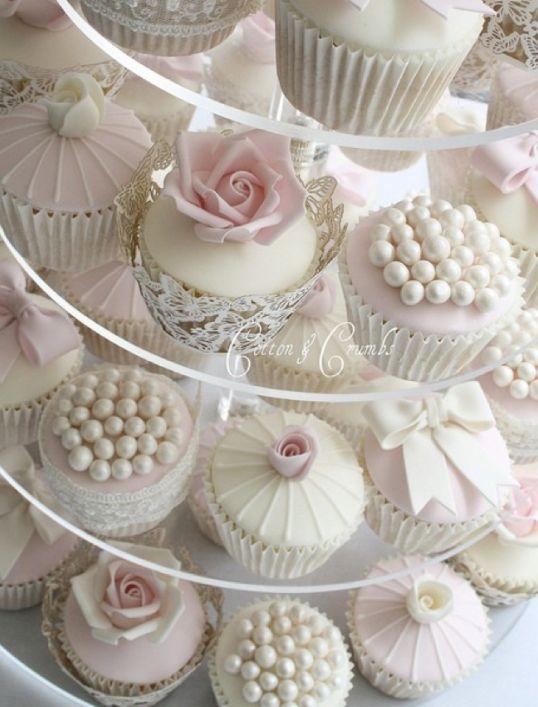 16 best Wedding cupcakes images on Pinterest | Cake wedding, Petit ...