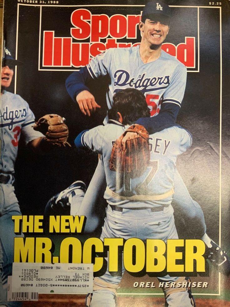 October 31, 1988 Orel Hershisher Los Angeles L.A. Dodgers