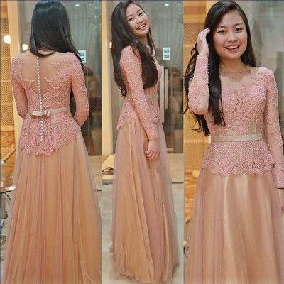 Charming Prom Dress,Tulle Prom Dress,O-Neck Prom Dress,Appliques Prom Dress P670