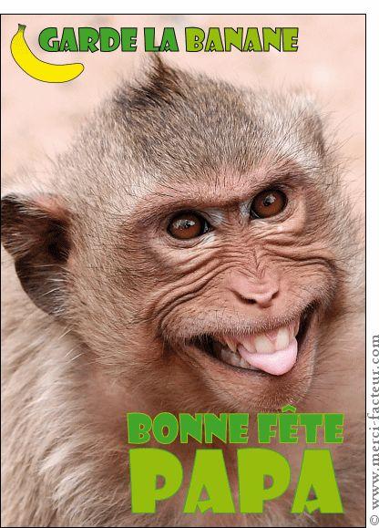 La fête des pères arrive dans quelques jours...  Envoyez en quelques clics une jolie carte :) http://www.merci-facteur.com/carte-fete-des-peres.html #carte #fetedesperes #papa Carte Garde la banane petit singe pour envoyer par La Poste, sur Merci-Facteur !