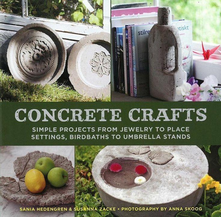 Concrete Crafts - Pinetree Garden Seeds - Books