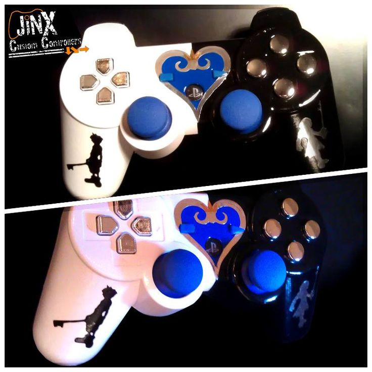 Kingdom Hearts PS3 controller. ~ Oh my. Is it wrong for me to want this so much? @Catie @ Catie's Corner @ Catie's Corner @ Catie's Corner @ Catie's Corner Carter